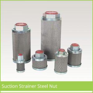 suction strainer steel nut