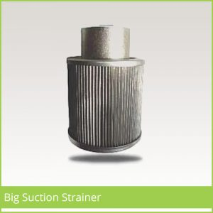 Big Suction Strainer Supplier